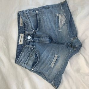 Pacsun Distressed Mom Shorts
